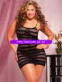 Plus size bodystockings